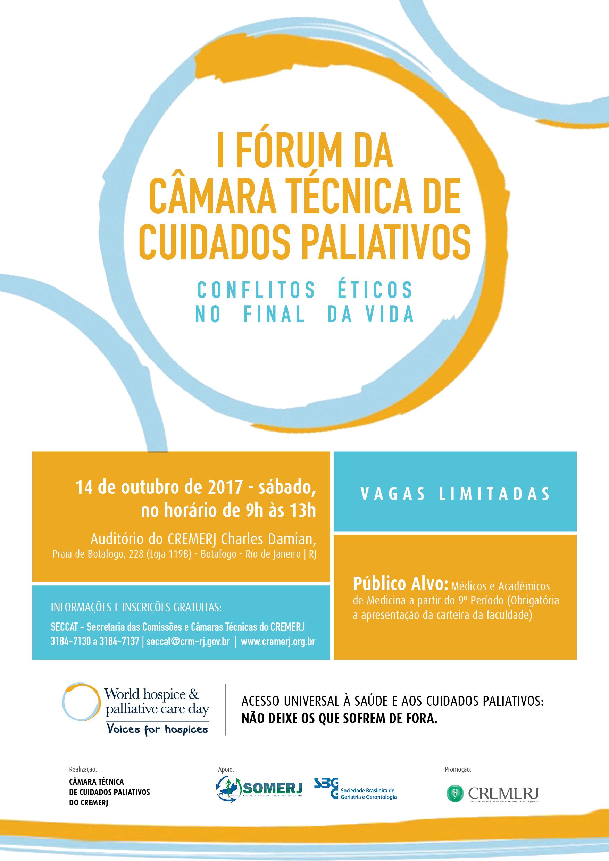 I Fórum da Câmara Técnica de Cuidados Paliativos