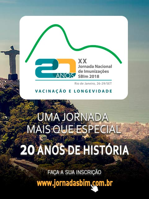 XX Jornada Nacional de Imunizações SBIm 2018