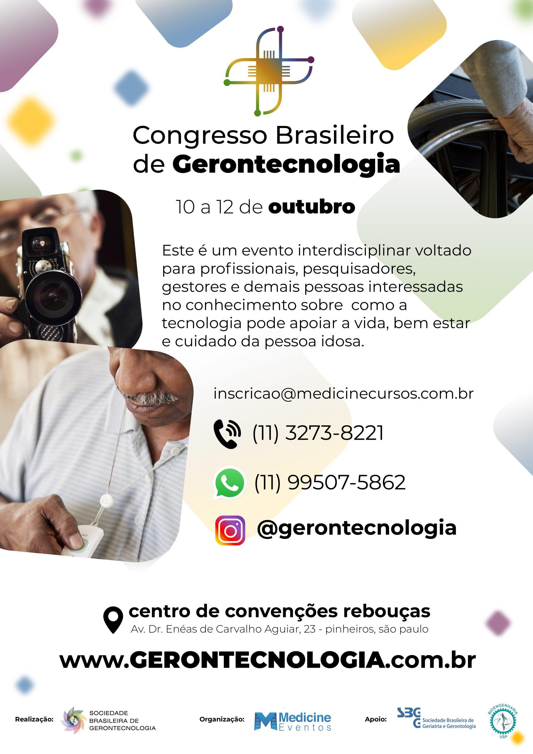 III Congresso Brasileiro de Gerontecnologia