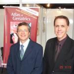 Prof. Ulisses e Dr. Jose Elias Soares - Congresso Mundial de Geriatria realizado no RJ há alguns anos.