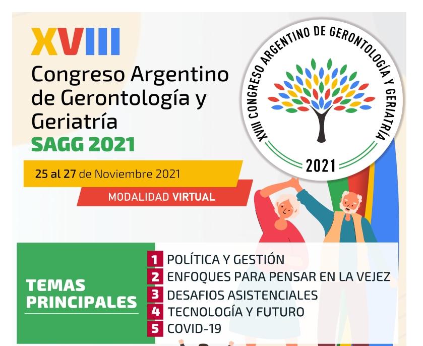 XVIII Congreso Argentino de Gerontología y Geriatría SAGG 2021