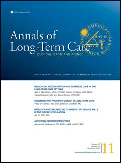 Annals of Long-Term Care