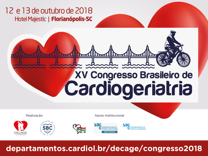 XV Congresso Brasileiro de Cardiogeriatria 2018