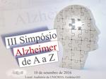 III Simpósio Alzheimer de A a Z – SBGG-GO
