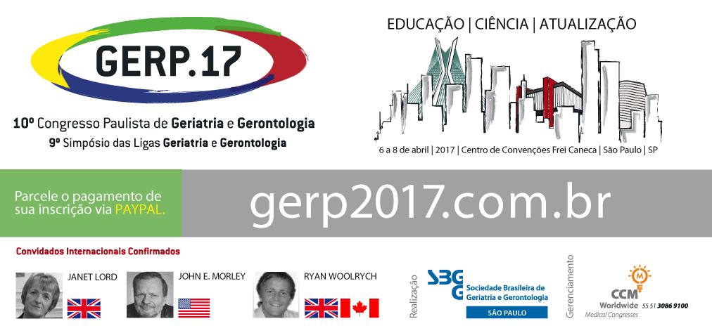 10º Congresso Sul-Brasileiro de Geriatria e Gerontologia