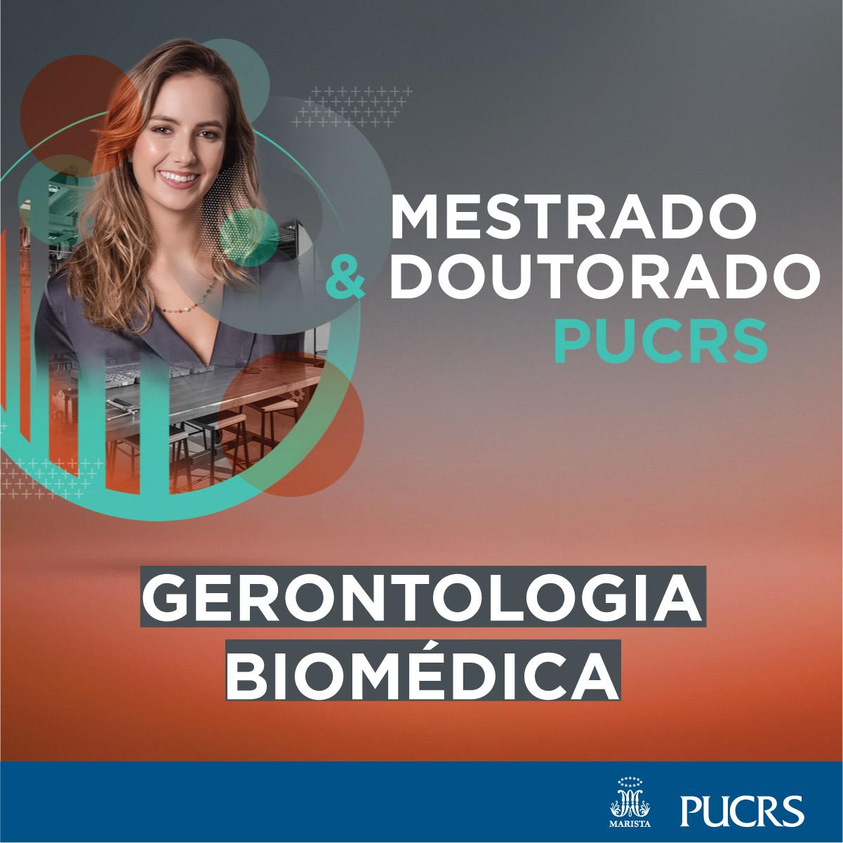 Processo Seletivo de Mestrado e Doutorado do Programa de Pós Graduação em Gerontologia Biomédica – PUC RS