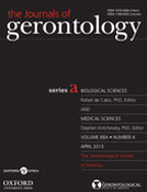 The Journals of Gerontology Series A: Biological Sciences and Medical Sciences