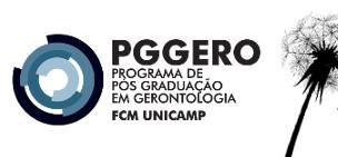 VIII Seminário de Pesquisa em Gerontologia e Geriatria – Tema: Avaliação Geriátrica Ampla